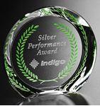 "Picture of Achiever Award 5"" Dia"