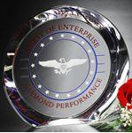 "Picture of Achiever Award 8"" Dia"