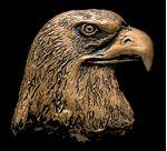 Picture of Eagle Head Bronze Accent