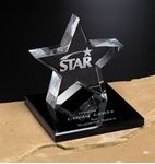 Picture of Tapered Star on Base 4""