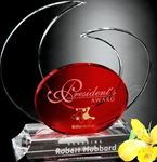 Picture of #7441 Elliptic Ruby Award 8""