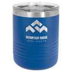 Picture of  LTM7104 - Polar Camel Ringneck 10 oz. Royal Blue Vacuum Insulated Tumbler with Clear Lid